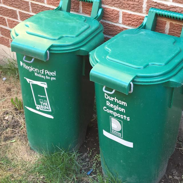 Find More 2 Green Bins Counter Bin For Sale At Up To 90 Off