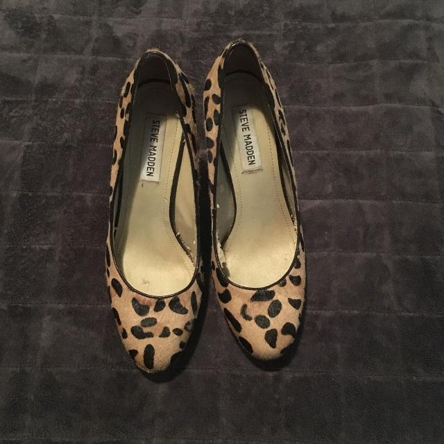 "d3ac1e52b47 Find more Steve Madden ""rumble"" Leopard Print Pumps Size 6.5"