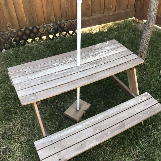 Find More Kids Ikea Picnic Table For