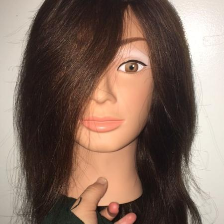 Babyliss Pro Mannequin Head Real Hair for sale  Canada