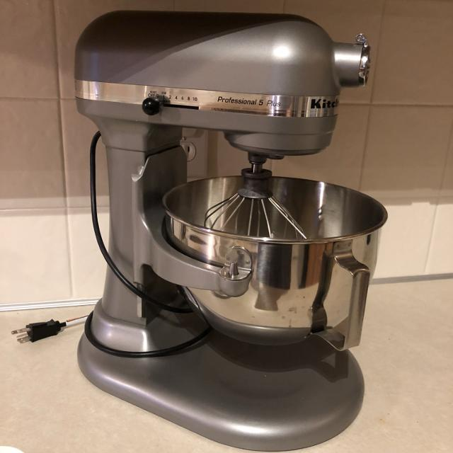 NEW NEVER USED KitchenAid Professional 5 Plus stand mixer with food  processor attachment and all blades also all NEW- $600 value
