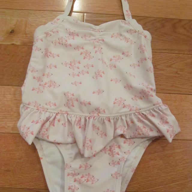 cbdc0fb45d087 Find more Old Navy 3t White Swimsuit With Pink Fish (no Pilling On ...