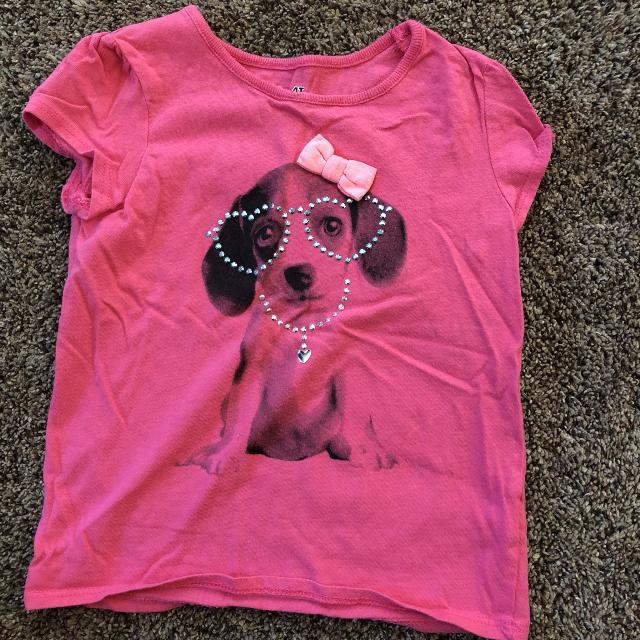 179ab3fa9fc9 Best Little Girls Short Sleeve Pink Puppy Shirt Size 4t $2.00 for sale in  Jefferson City, Missouri for 2019