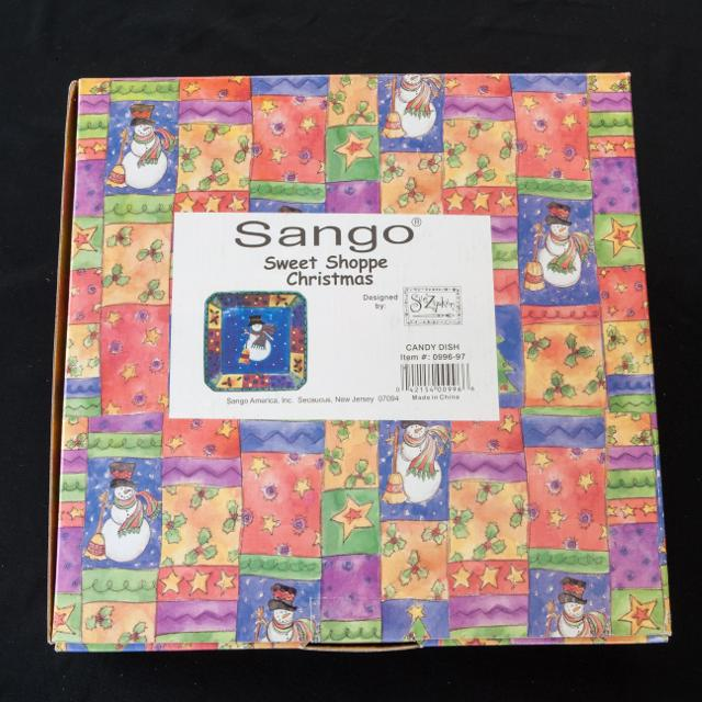 Best Sango Christmas Candy Dish for sale in Schaumburg, Illinois for 2019