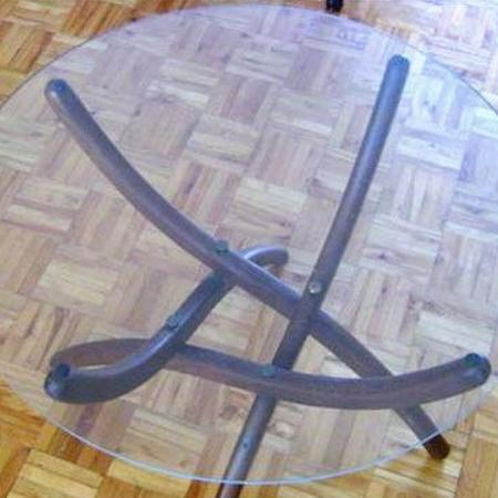Glass top for end or lamp table... for sale  Canada