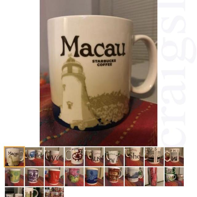 New Starbucks City You Are Here Icon Limited Edition Coffee Mugs Drink Cups