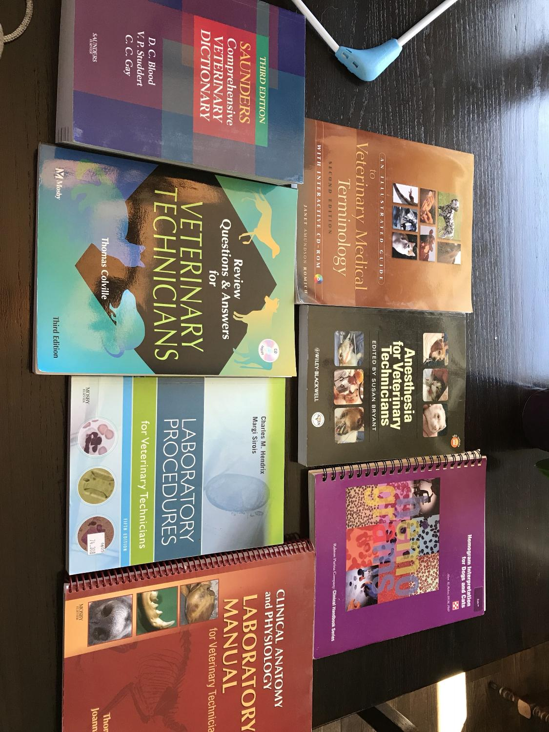 Find more Veterinarian Technology Text Book Lot for sale at up to 90 ...