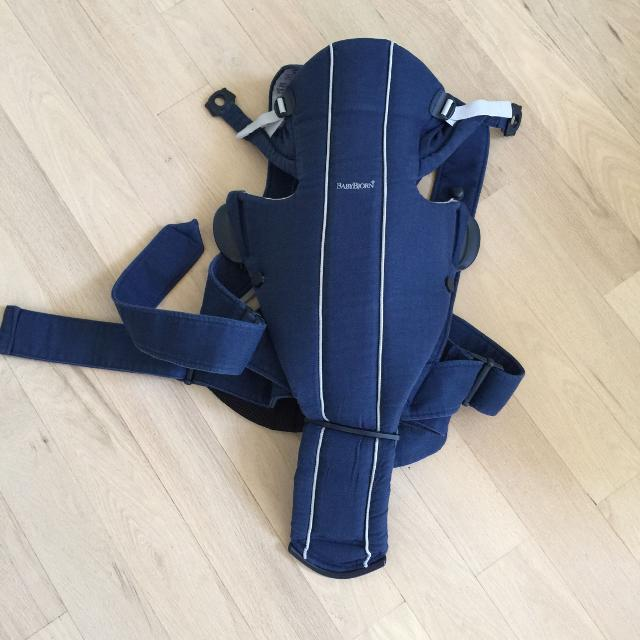 Baby Bjorn Baby Carrier Model Active With Back Support