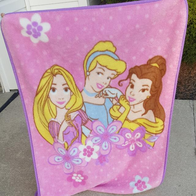 find more small disney princess blanket cross posted for sale at