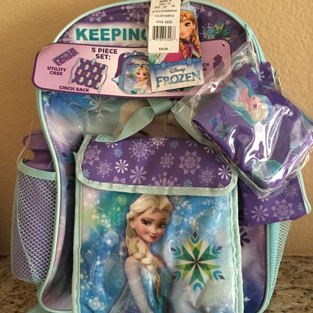 6ea1617d683 Best New ~ Disney s Frozen Backpack for sale in Temecula