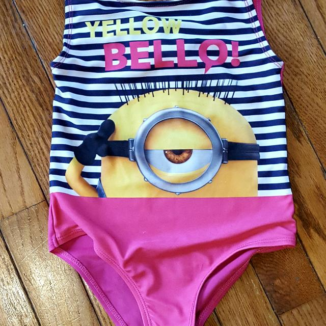 8bed82431b Find more Size 5 Gently Used Minion Bathing Suit for sale at up to ...