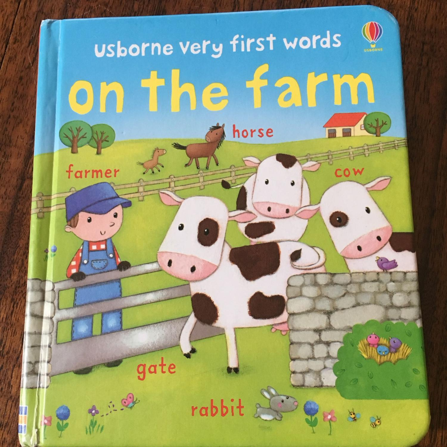 Find More Usborne Very First Words On The Farm For Sale At Up To 90 Off
