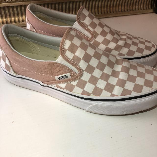 Find more Pink Checkered Vans for sale at up to 90% off 07000b33e