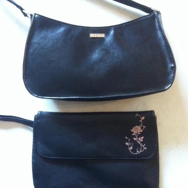 Kookai Handbag And Kate Moss Clutch