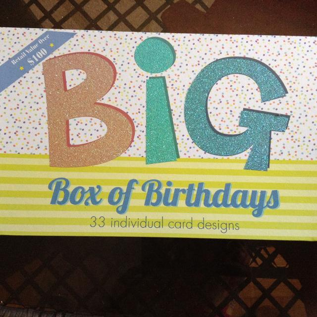 Best Big Box Of Birthday Cards For Sale In Scarborough Ontario 2019