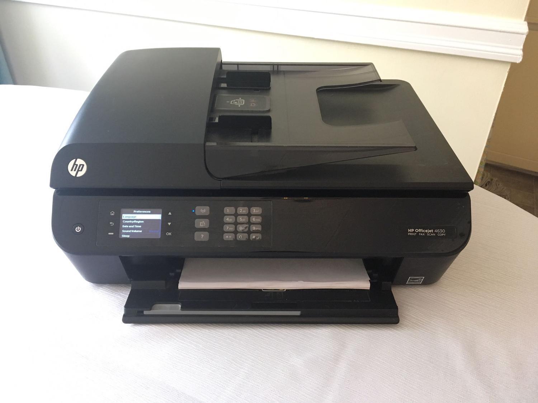 HP Officejet 4630 Wifi PRINT FAX SCAN COPY