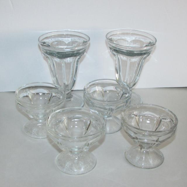 304aaf145fe Best Clear Depression Glass Ice Cream Dishes Soda Fountain Glassware for  sale in Etobicoke