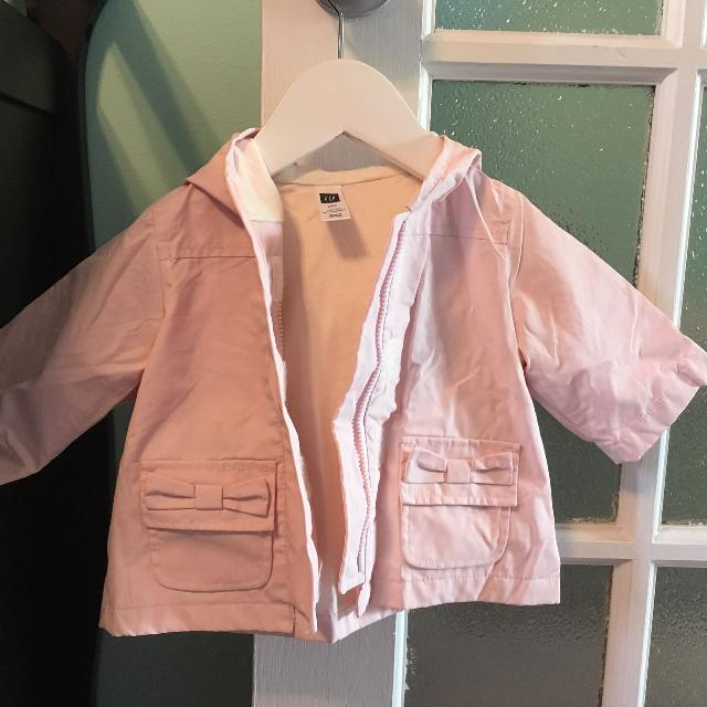 5872340540f3 Find more Gap 0-3 Month Baby Girl Rain Jacket for sale at up to 90% off