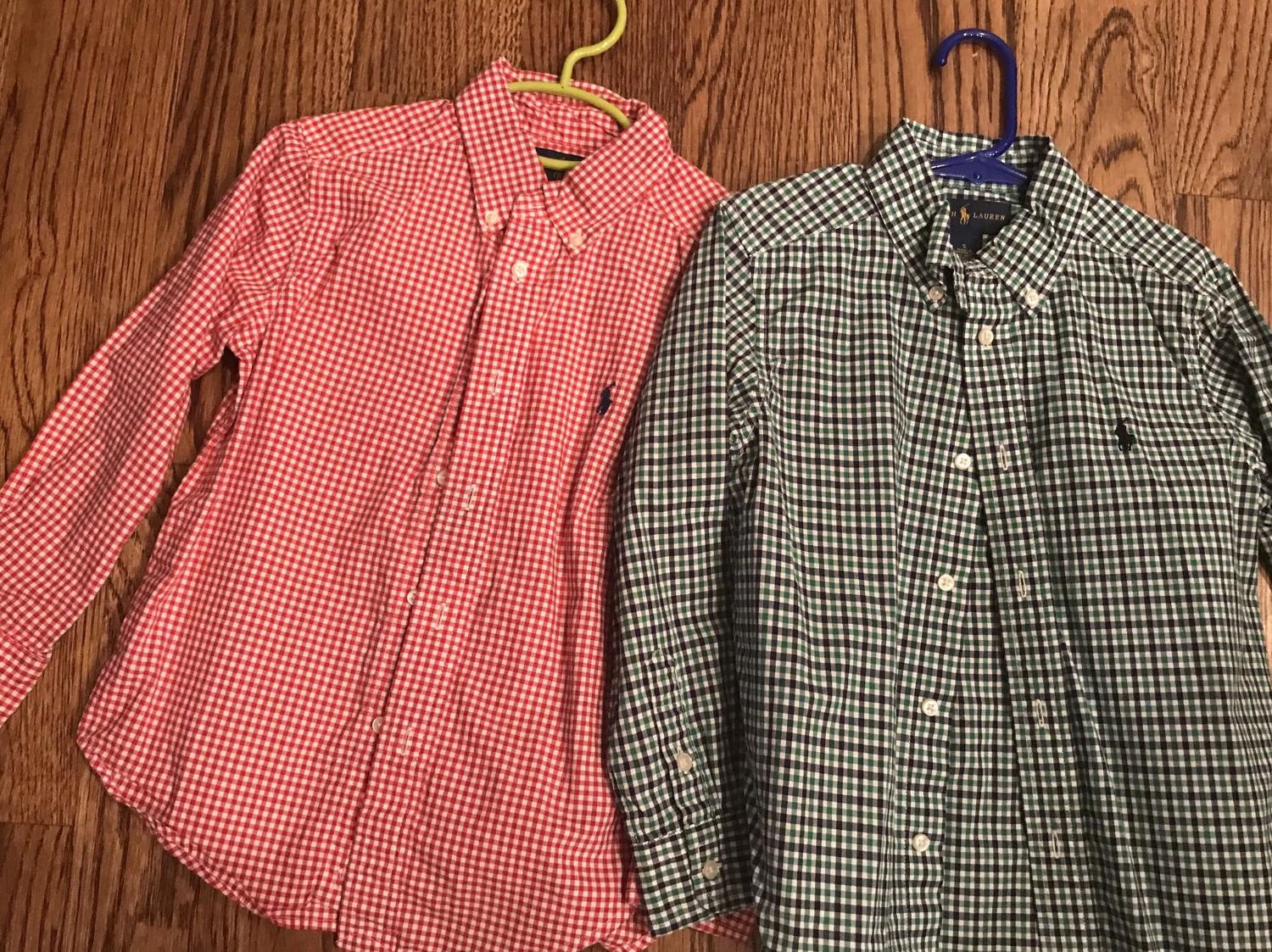Find More 2 Boys Size 5 Ralph Lauren Dress Shirts Euc For Sale At