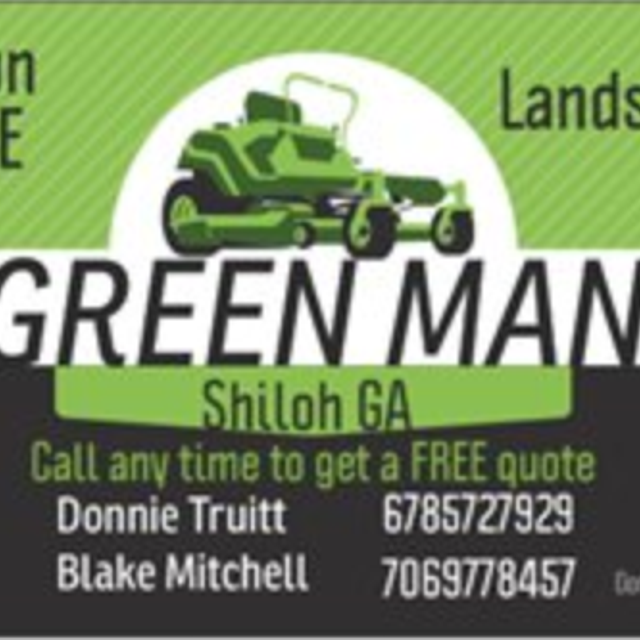 Green Man Lawn Care And Landscaping