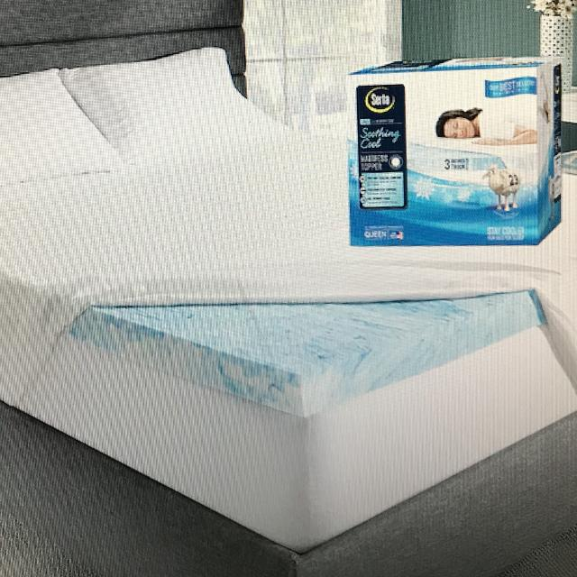 Find More Serta Soothing Cool 3 Inch Gel Memory Foam Mattress