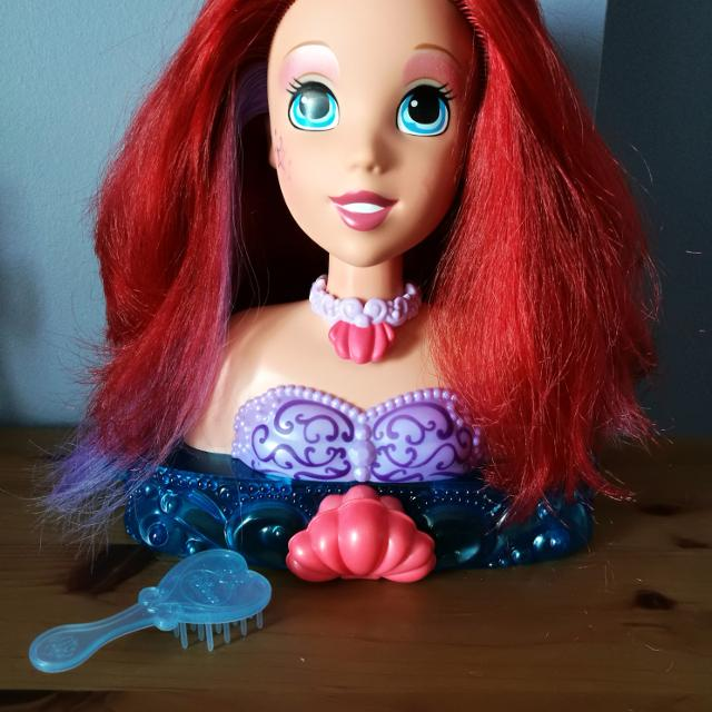 Find More Disney Princess Ariel Hair Makeup Styling Head For Sale