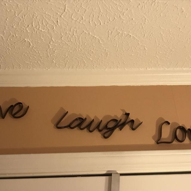 Best Live Laugh Love Metal Wall Decor for sale in Hendersonville ...