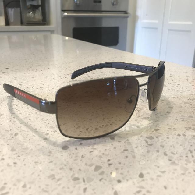 3e003b3b7c3e Best Prada Linea Rossa Polarized Sunglasses - No Tagging for sale in  Ladner, British Columbia for 2019