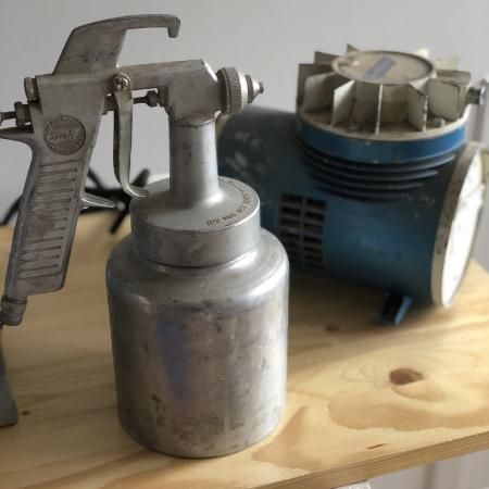 Paint gun & compressor for sale  Canada