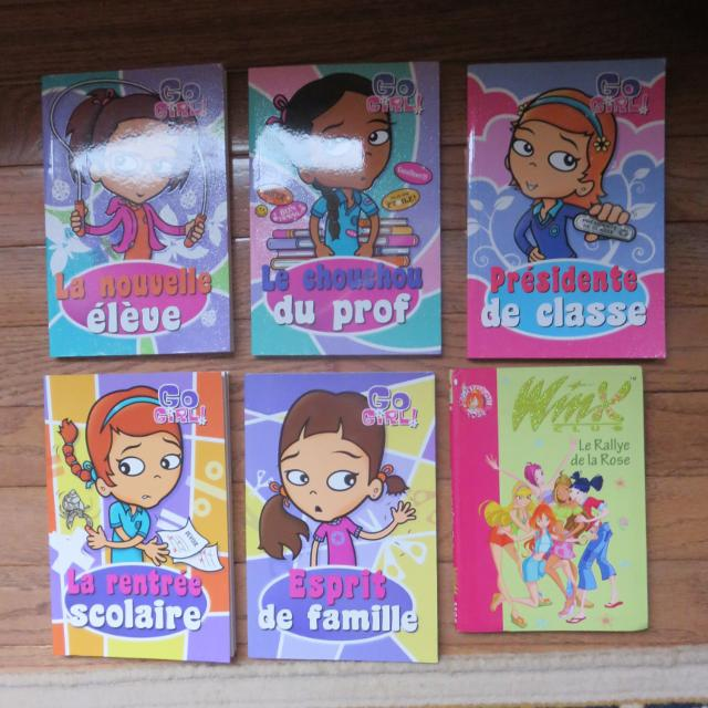 Livres En Francais Go Girl Winx French Books