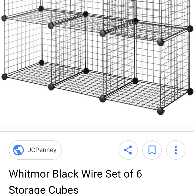 Best Black Wire Cube Shelving for sale in Hendersonville, Tennessee ...