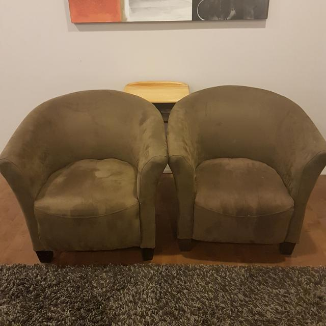 Best Coffee Brown Tub Chairs for sale in Airdrie, Alberta for 2018