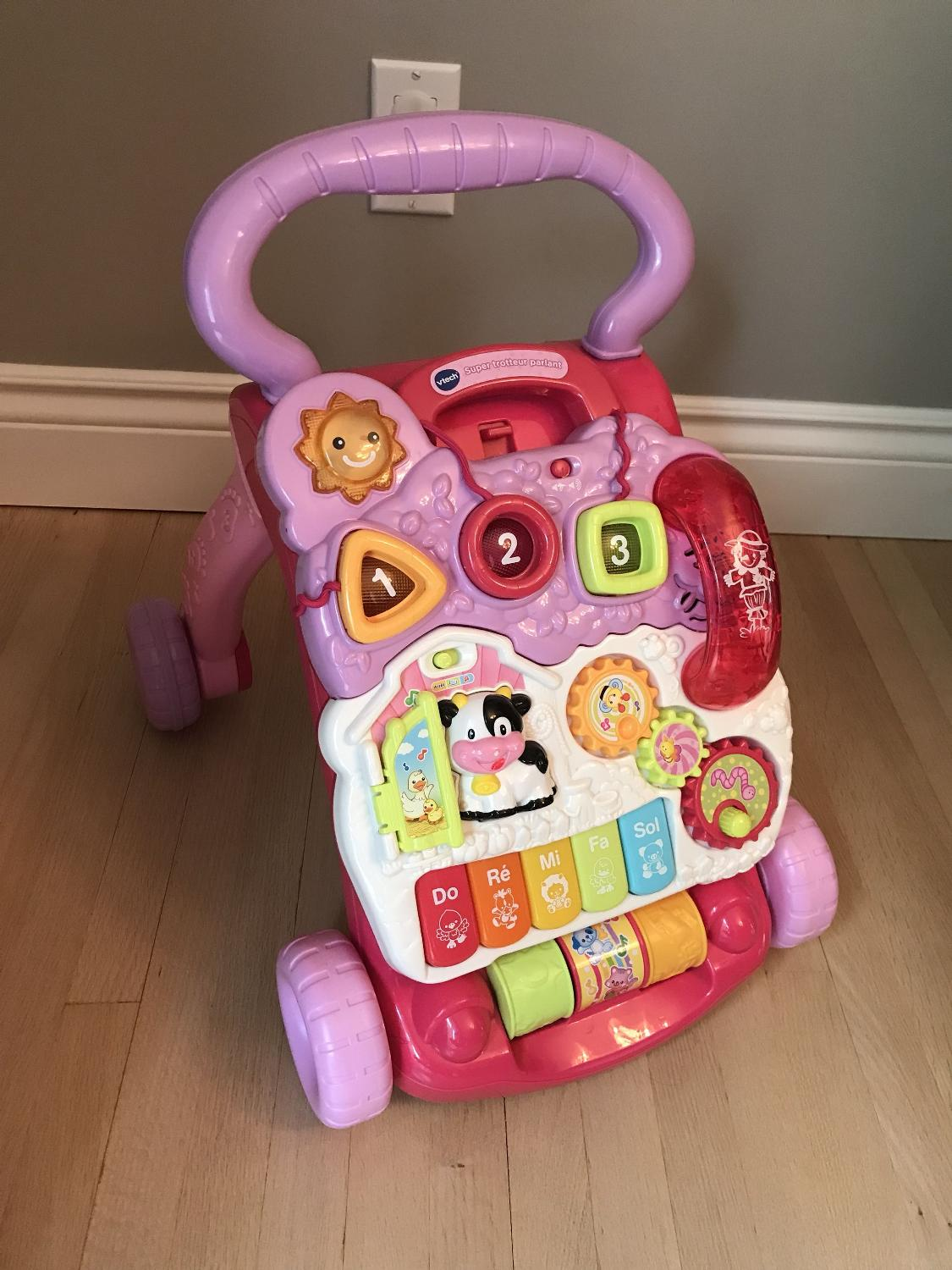 Find More Vtech Sit To Stand Learning Walker Pink