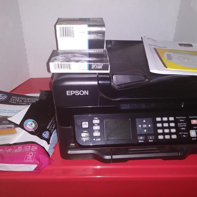 epson wf 2540 wireless setup