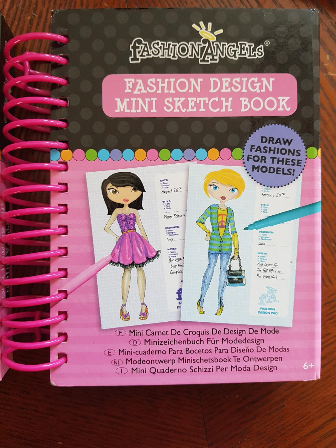Best Fashion Design Mini Sketchbook For Sale In Oshawa Ontario For 2020