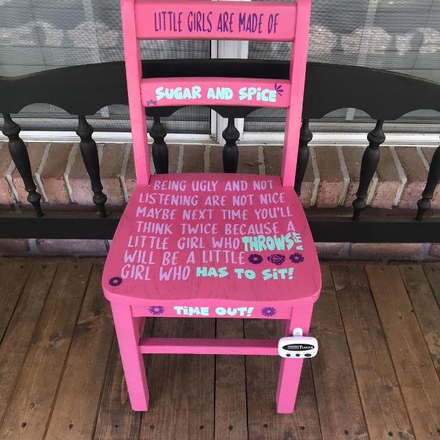 Find More Girl Time Out Chair For Sale At Up To 90 Off