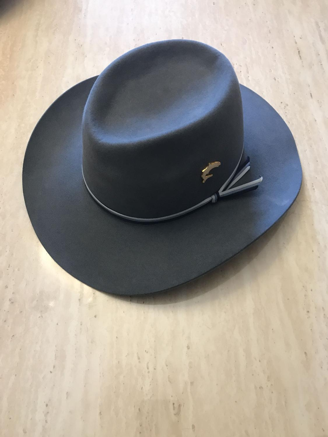 """e5108815f1e Best Akubra """"the Great White Shark"""" Greg Norman Collection Hat for sale in  Ajax"""
