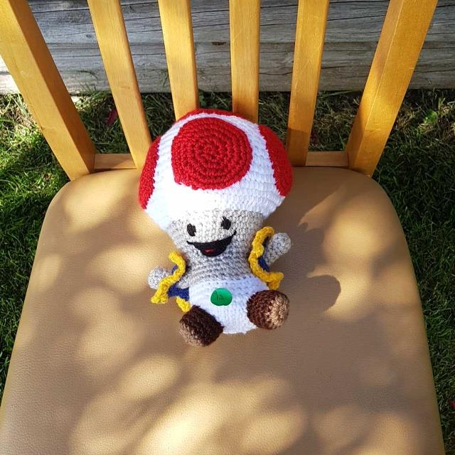 Find More Crochet Mario Mushroom For Sale At Up To 90 Off