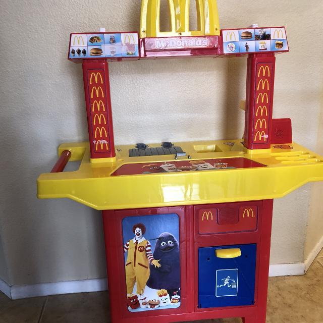 Mcdonalds Play Set Kitchen