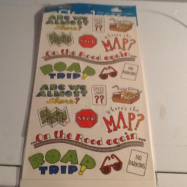 Find More Travel Scrapbook Stickers For Sale At Up To 90 Off
