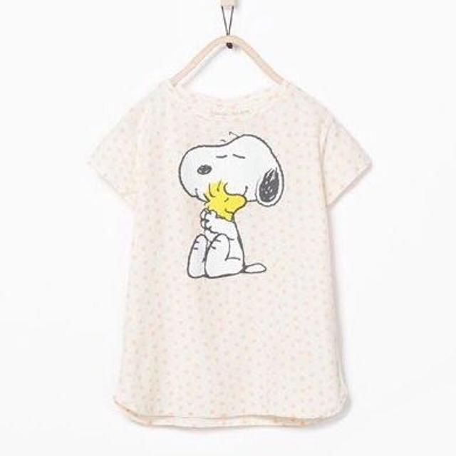17db5c6e06443e Find more Zara Girls | Soft Collection | Snoopy T-shirt | Size 4/5 ...
