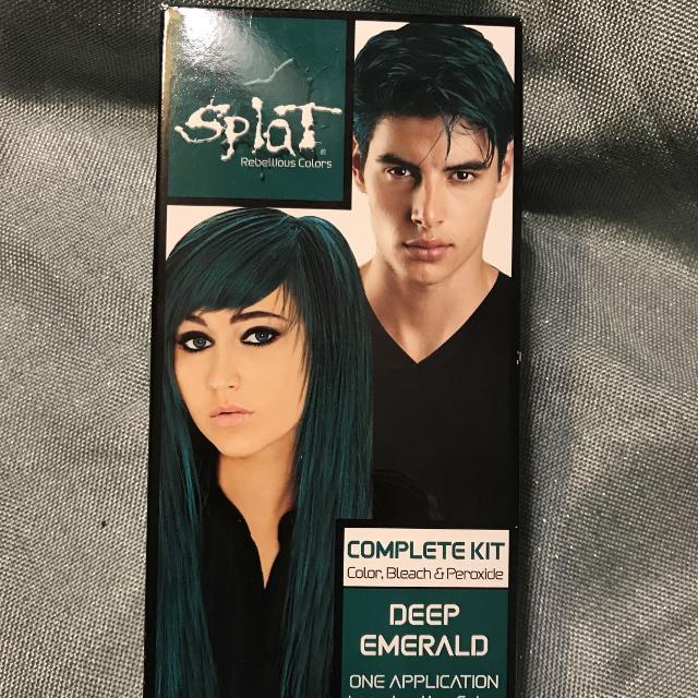 Splat Emerald Green Hair Dye Brand New
