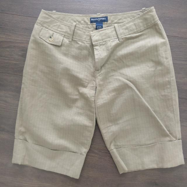 e98c2b4abd Best Banana Republic Women's Shorts Size 4, Linen And Cotton for sale in  Richmond, British Columbia for 2019