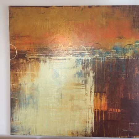 Used, Large Abstract Canvas Art for sale  Canada