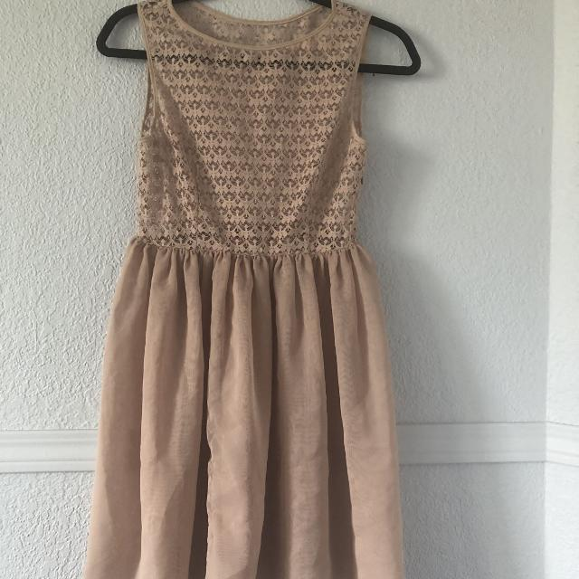 5c44cfe372c81 Best American Apparel Lace Chiffon Dress Xs for sale in Calgary ...