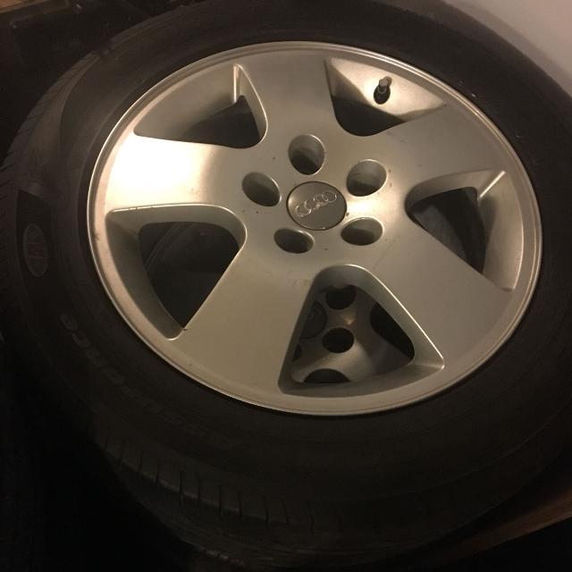 "Audi A4 Tires Recommended: Best Audi A4 16"" Rims And Tires 215/55 R16 For Sale In"