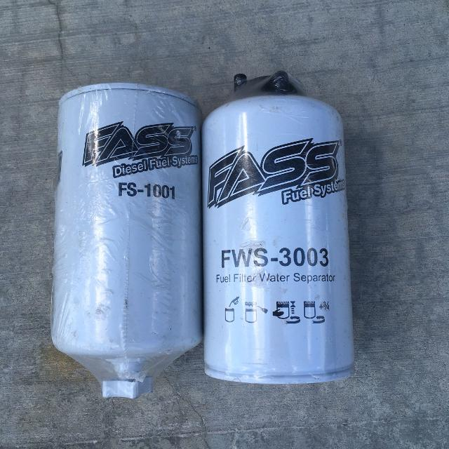Fass fuel filter and water separator