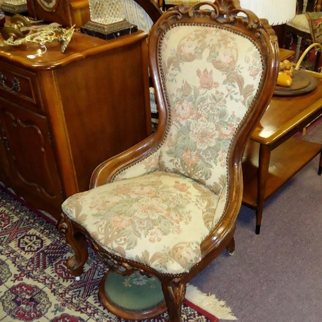ANTIQUE SLIPPER CHAIR - Best Antique Slipper Chair For Sale In Vaudreuil, Quebec For 2018