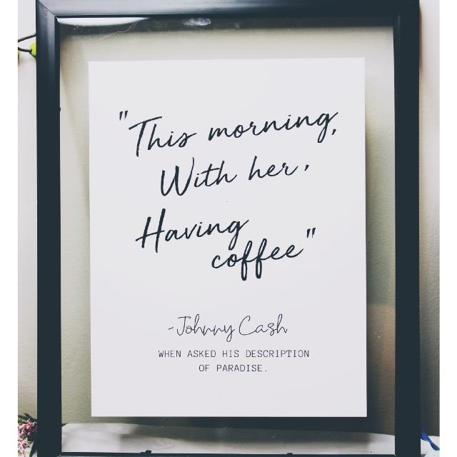 Best 11x14 Frame With Johnny Cash Quote for sale in Oshawa, Ontario ...