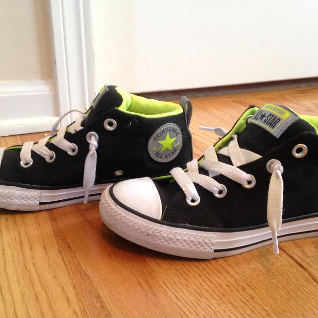 c755e744a51 Find more Boy Converse Shoes Size 2 for sale at up to 90% off